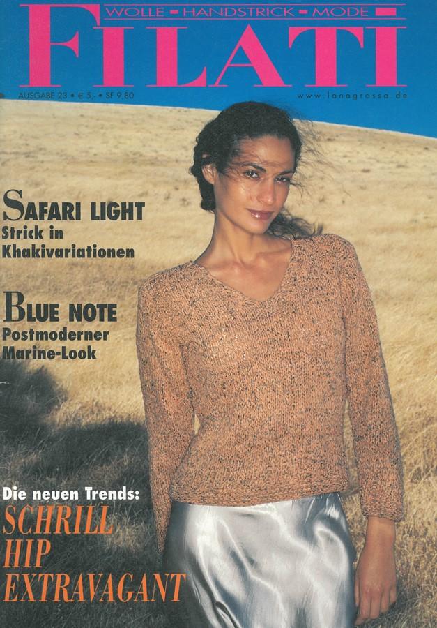 FILATI No. 23 (Sommer 2002) von Lana Grossa