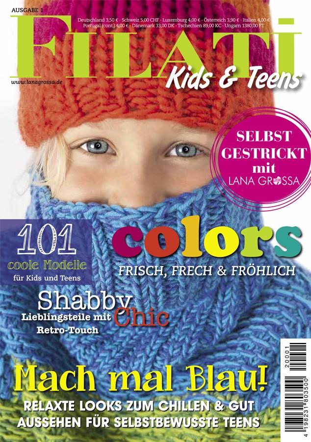 FILATI Kids & Teens No. 1  von Lana Grossa