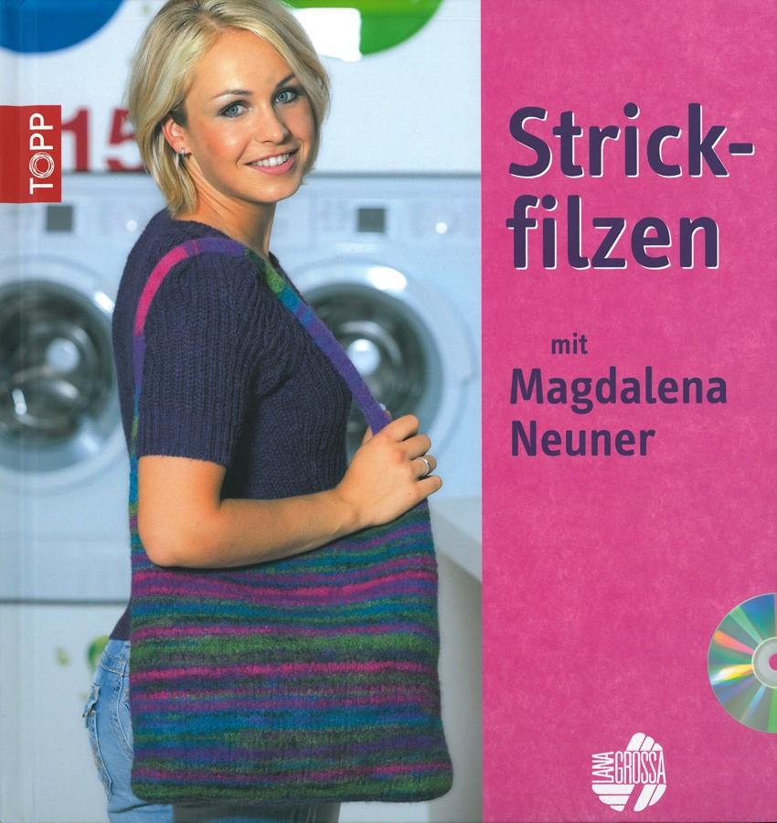 STRICKFILZEN - BUCH inkl. DVD von Lana Grossa