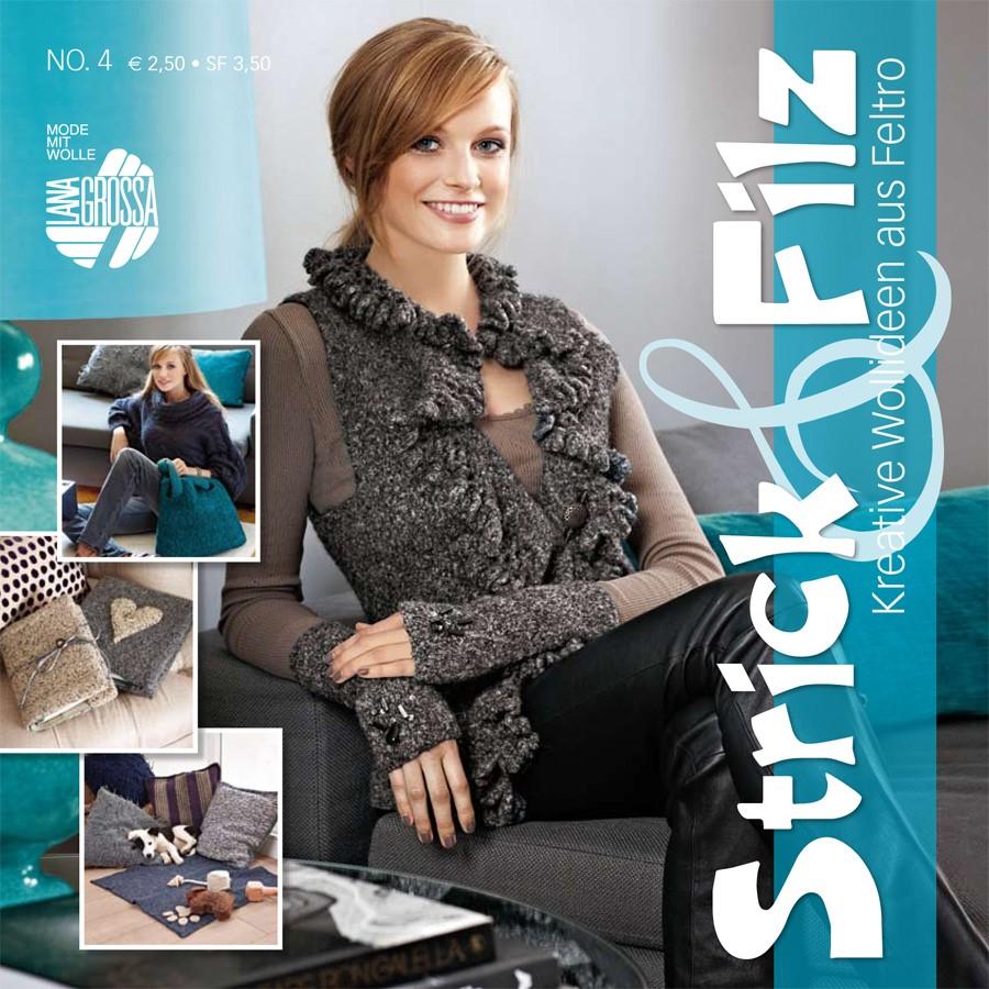 STRICK & FILZ No. 4 von Lana Grossa
