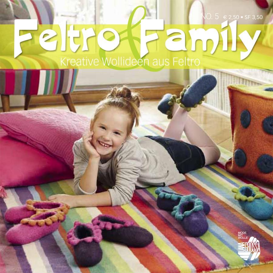 STRICK & FILZ No. 5 (Feltro & Family)  von Lana Grossa