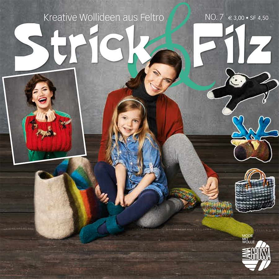 STRICK & FILZ No. 7 von Lana Grossa