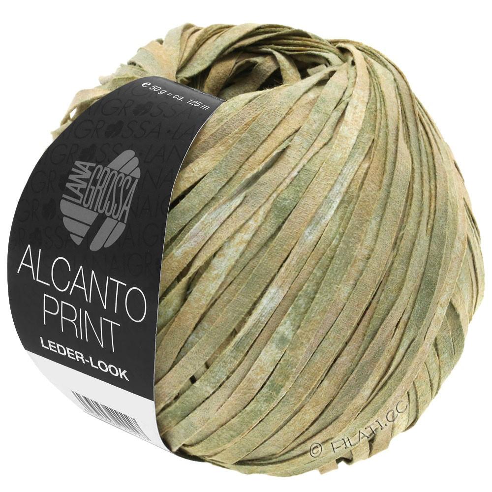 ALCANTO Print - von Lana Grossa | 101-Natur/Beige/Graugrün