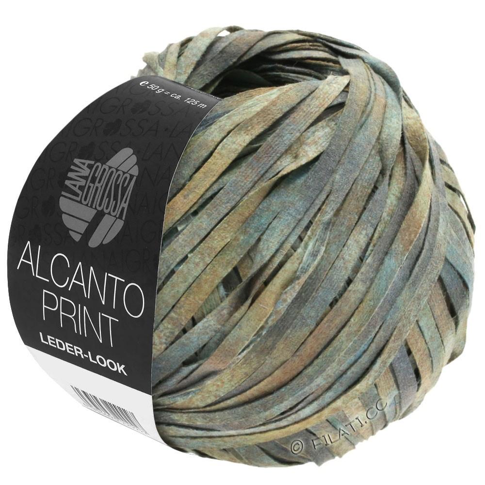 ALCANTO Print - von Lana Grossa | 102-Grau/Beige