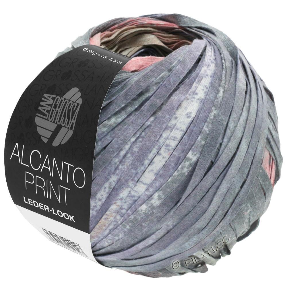ALCANTO Print - von Lana Grossa | 205-Natur/Beige/Grau/Altrosa