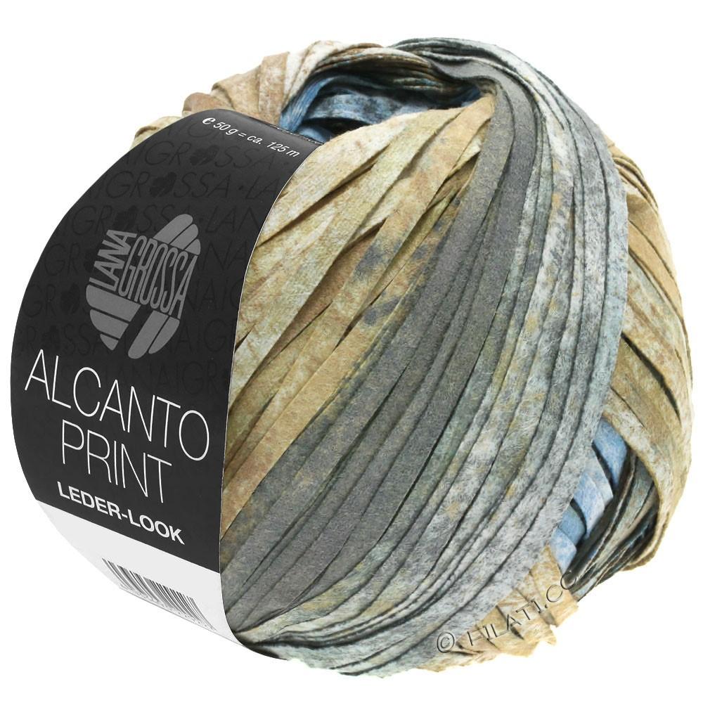 ALCANTO Print - von Lana Grossa | 206-Natur/Sandbraun/Grau