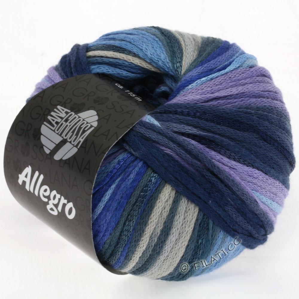 ALLEGRO - von Lana Grossa | 003-Jeans/Blaugrau/Flieder/Hellblau