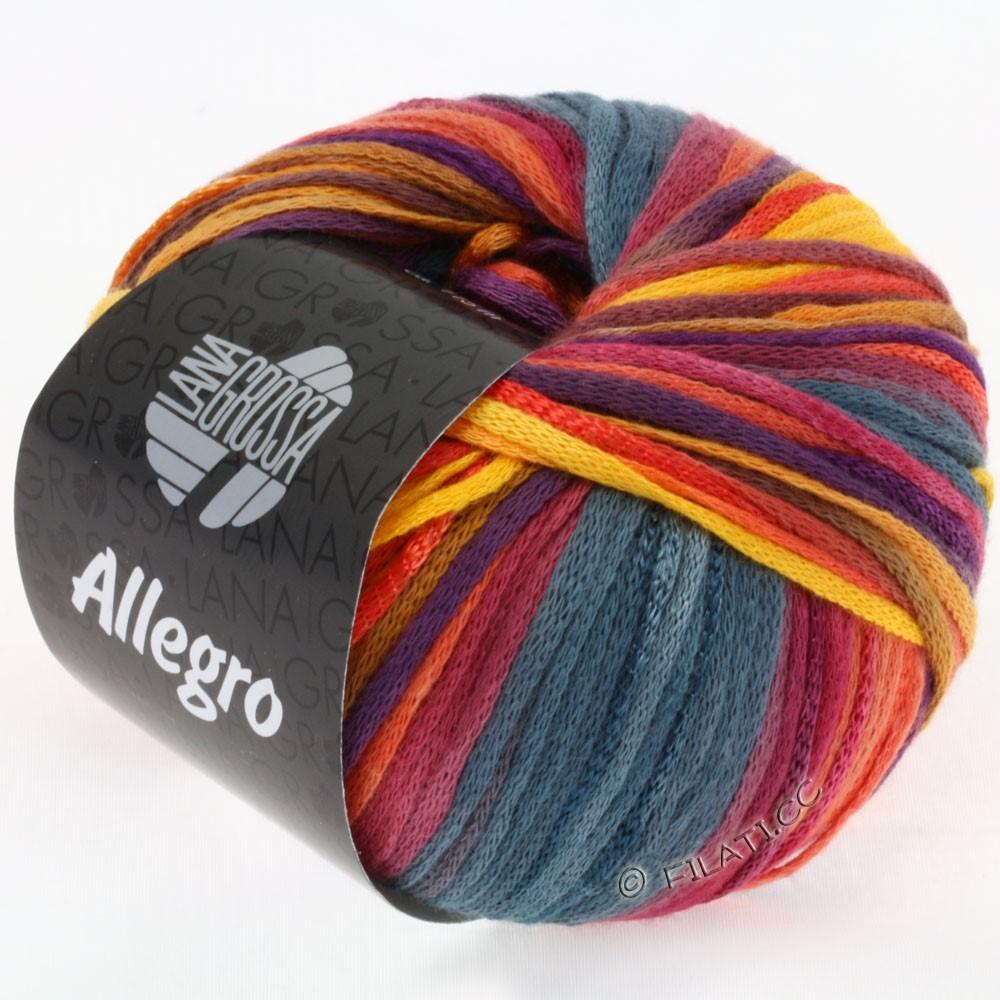 ALLEGRO - von Lana Grossa | 005-Orange/Koralle/Terracotta/Graublau