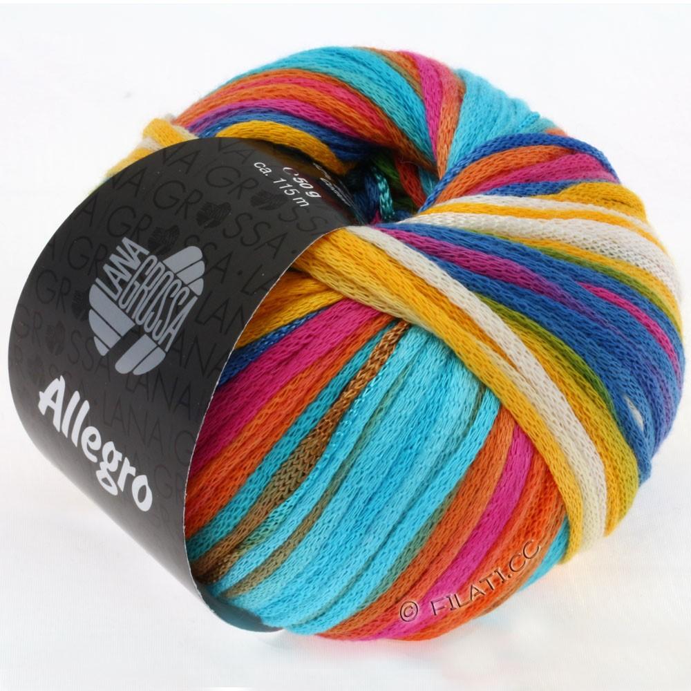 ALLEGRO - von Lana Grossa | 008-Pink/Blau/Gelb/Weiß/Hellgrün/Rot