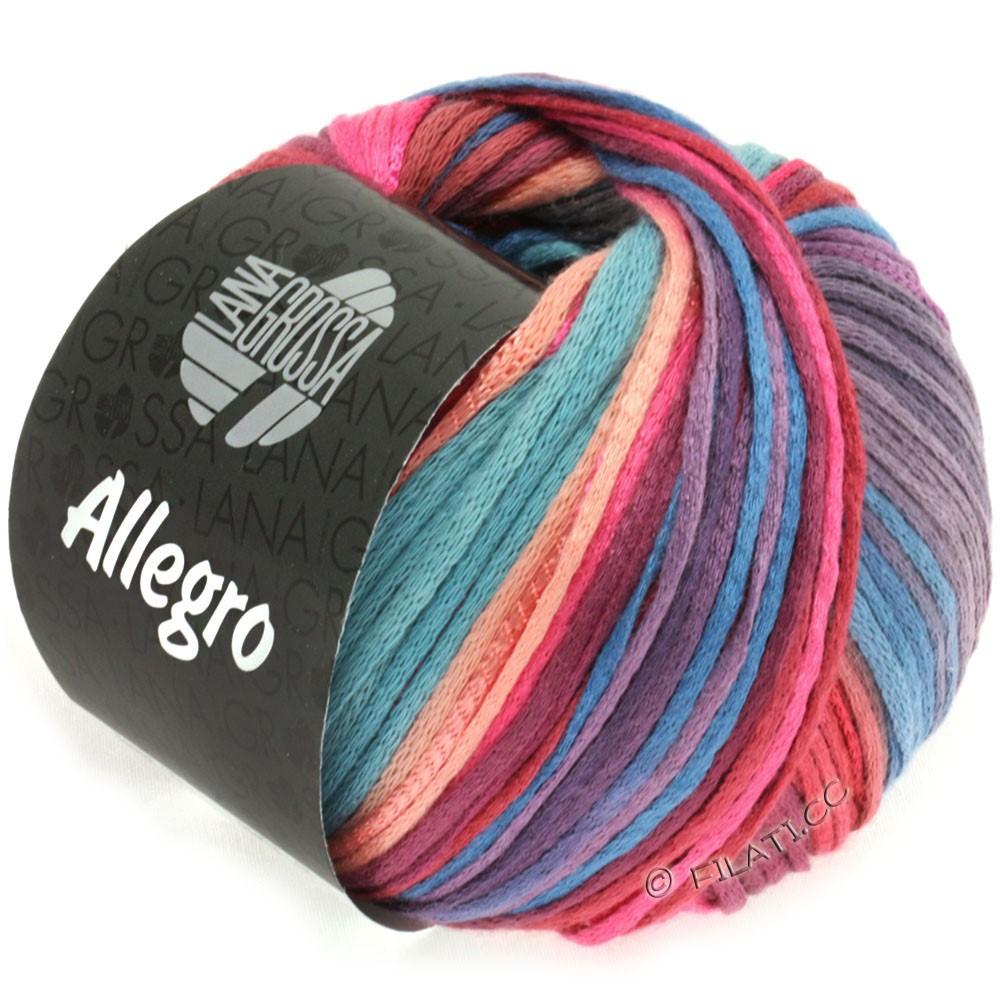 ALLEGRO - von Lana Grossa | 012-Pink/Lachs/Violett/Graublau/Rotbraun