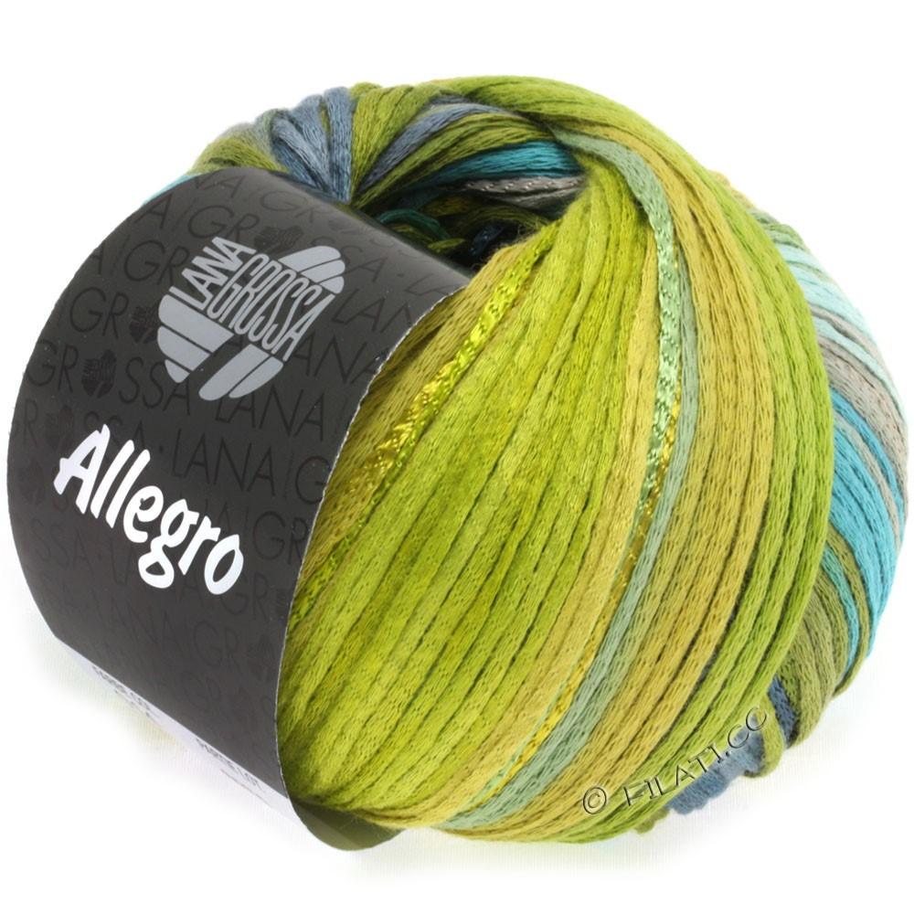 ALLEGRO - von Lana Grossa | 014-Petrol/Olivgrün/Stahlblau/Heugrün/Moosgrün