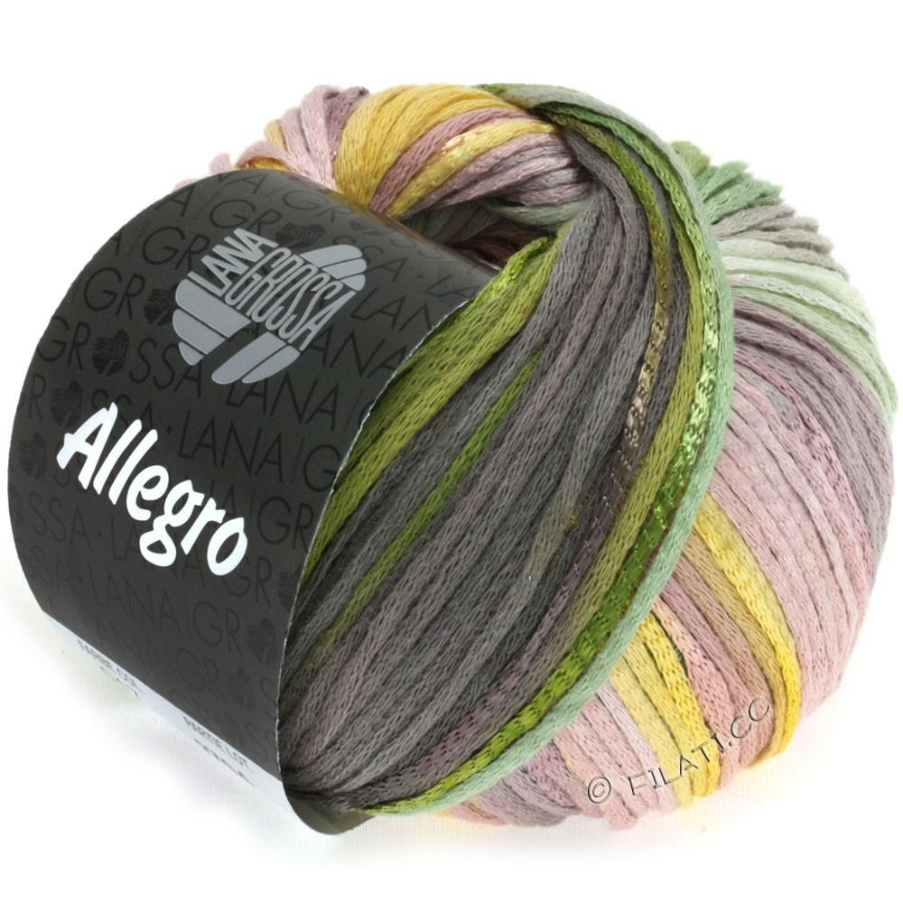 ALLEGRO - von Lana Grossa | 017-Gelb/Grün/Mokka/Rosenholz