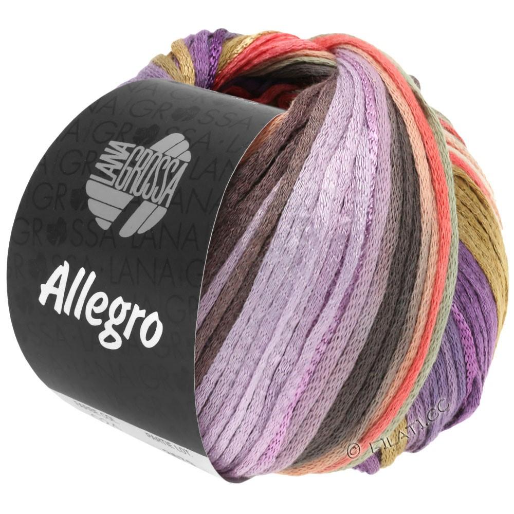 ALLEGRO - von Lana Grossa | 030-Violett/Lachs/Beige/Natur/Flieder/Taupe/Hellgrau