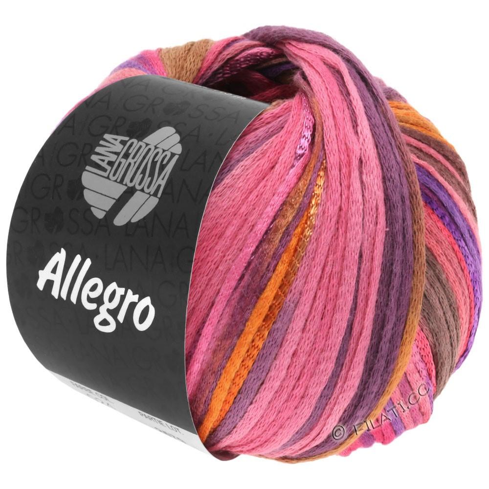 ALLEGRO - von Lana Grossa | 031-Pink/Orange/Violett/Zimt