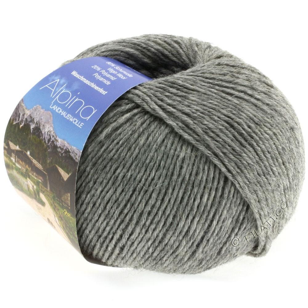 ALPINA Landhauswolle - von Lana Grossa | 05-Grau meliert