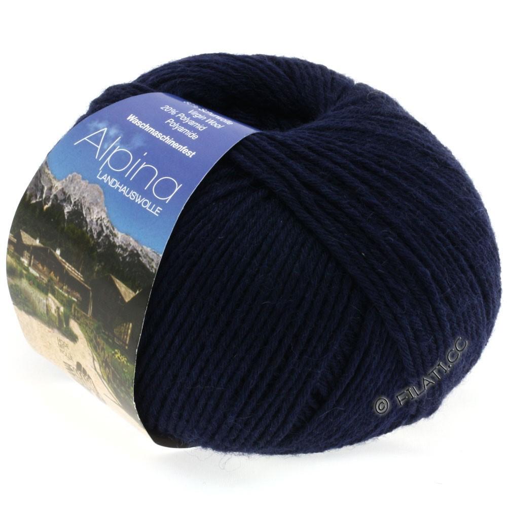 ALPINA Landhauswolle - von Lana Grossa | 08-Nachtblau
