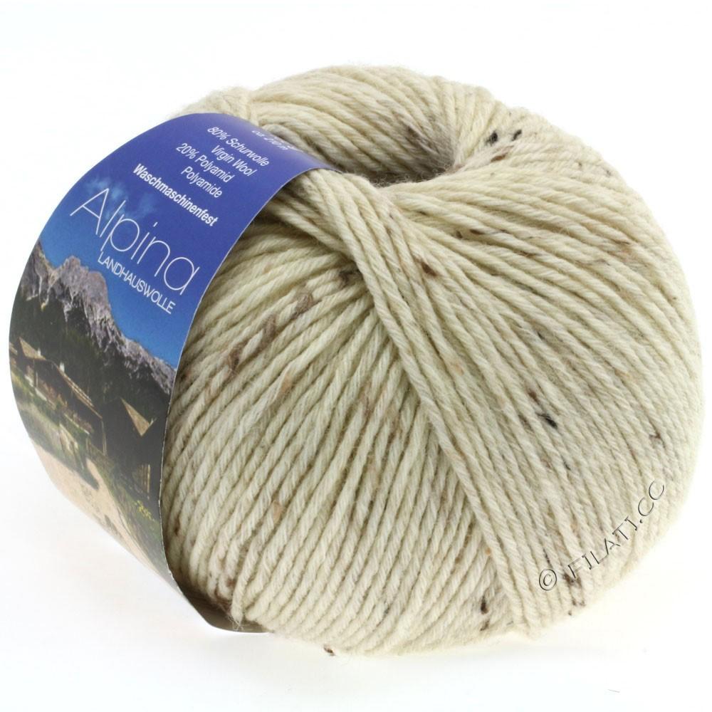 ALPINA Landhauswolle - von Lana Grossa | 10-Natur meliert