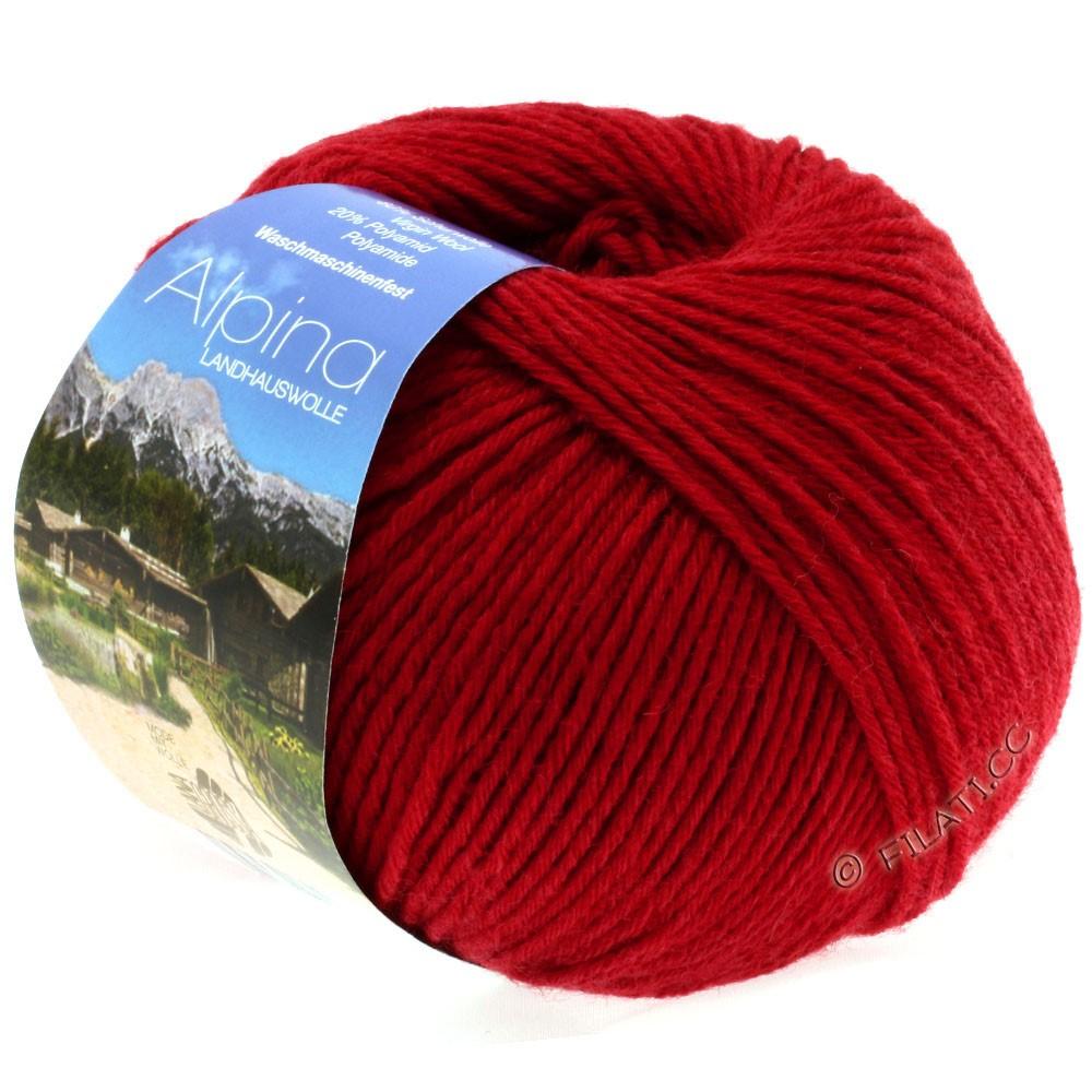 ALPINA Landhauswolle - von Lana Grossa | 15-Rot