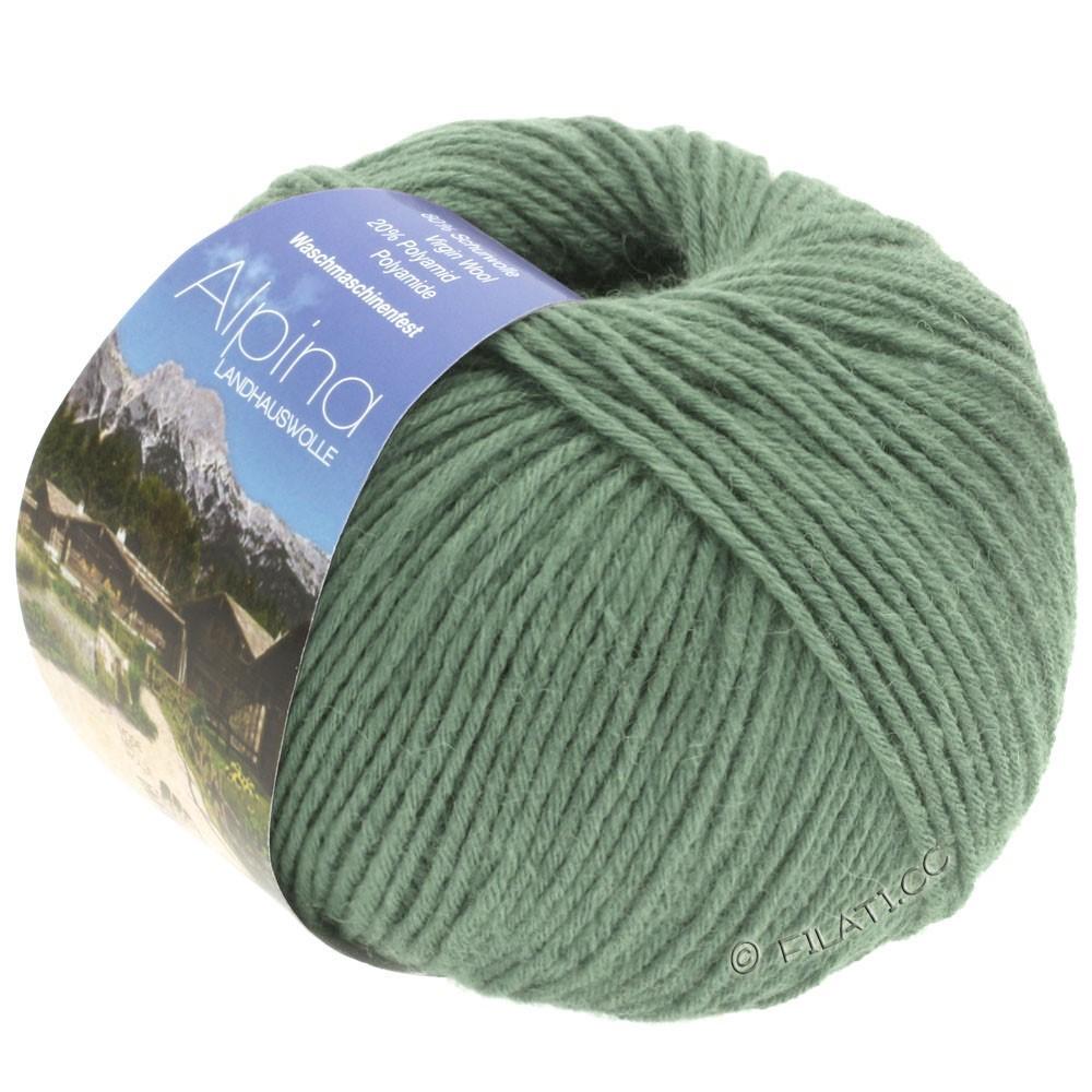 ALPINA Landhauswolle - von Lana Grossa | 38-Graugrün