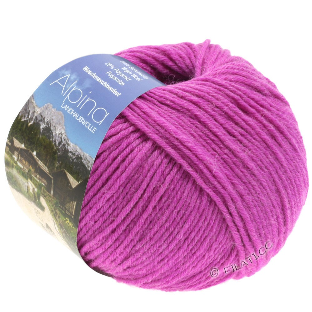 ALPINA Landhauswolle - von Lana Grossa | 40-Pink