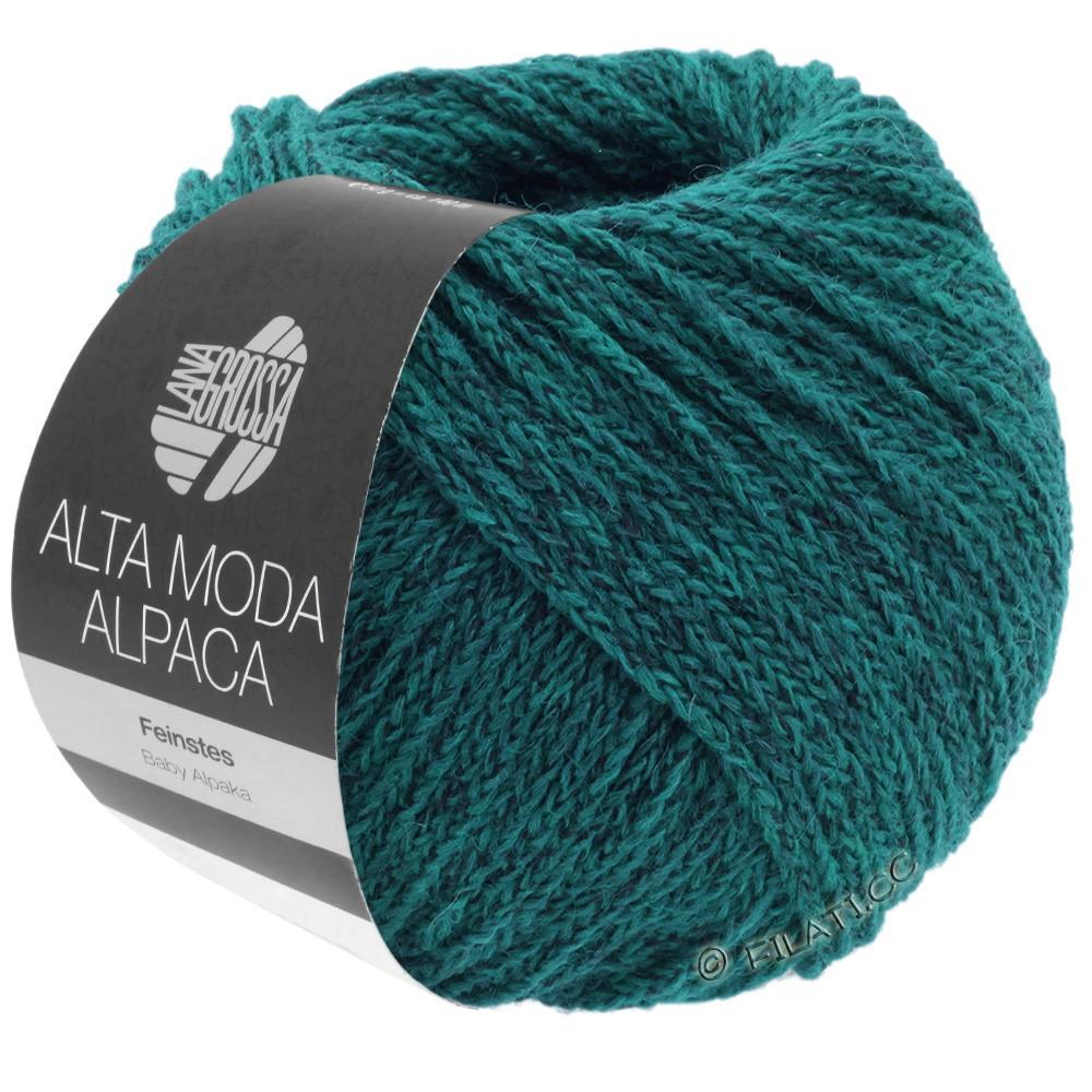 ALTA MODA ALPACA - von Lana Grossa | 08-Petrol meliert