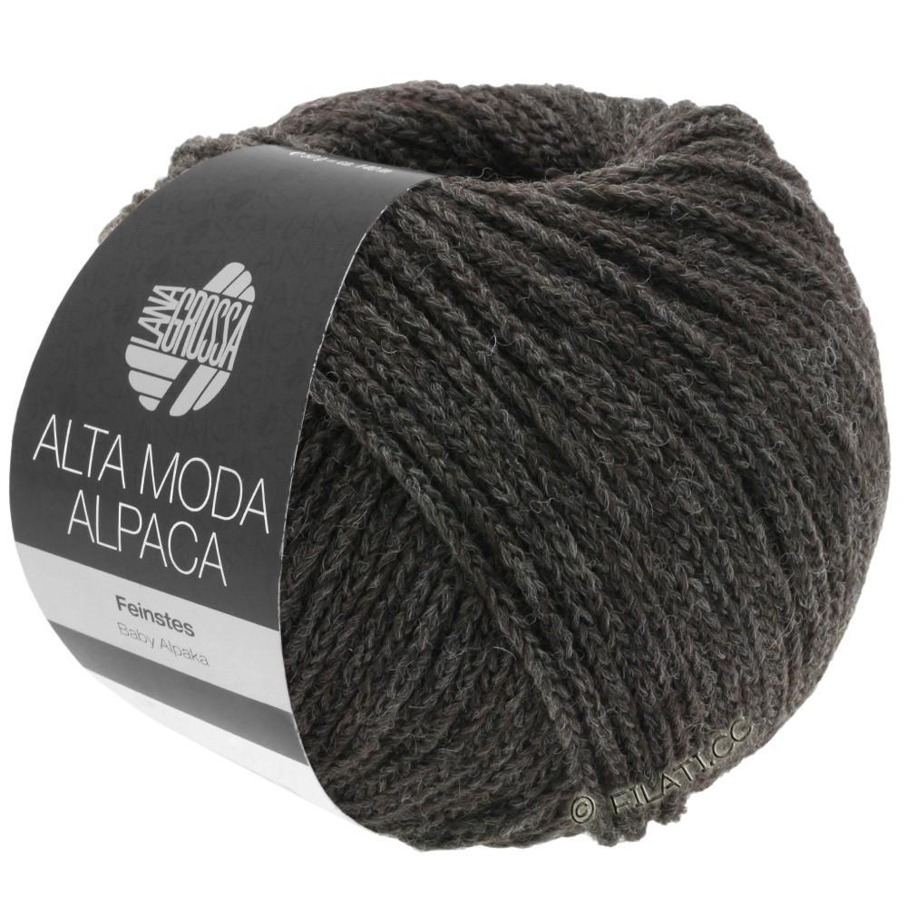 ALTA MODA ALPACA - von Lana Grossa | 10-Mokka meliert