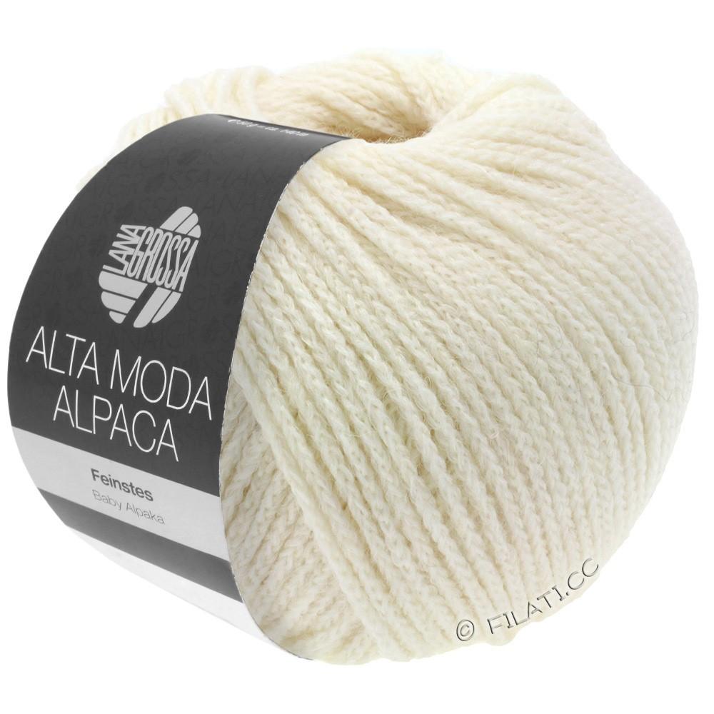 ALTA MODA ALPACA - von Lana Grossa | 14-Rohweiß