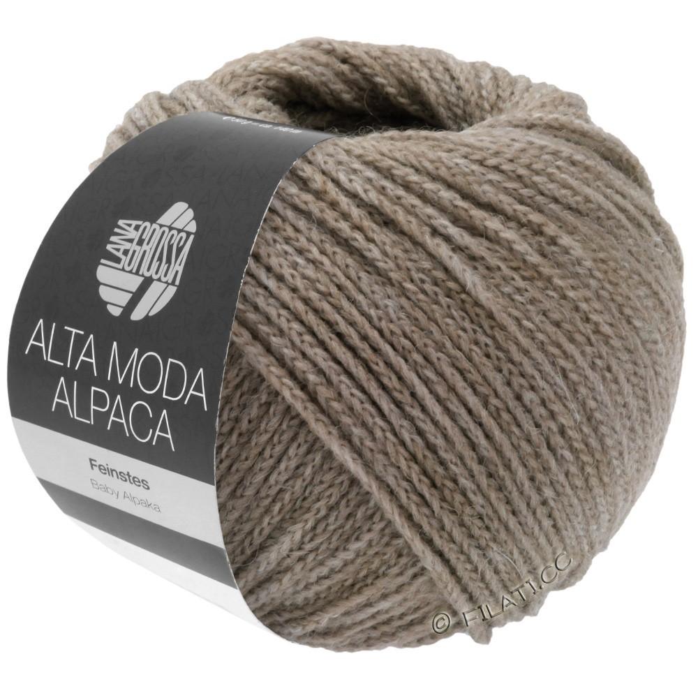 ALTA MODA ALPACA - von Lana Grossa | 15-Grau/Beige meliert