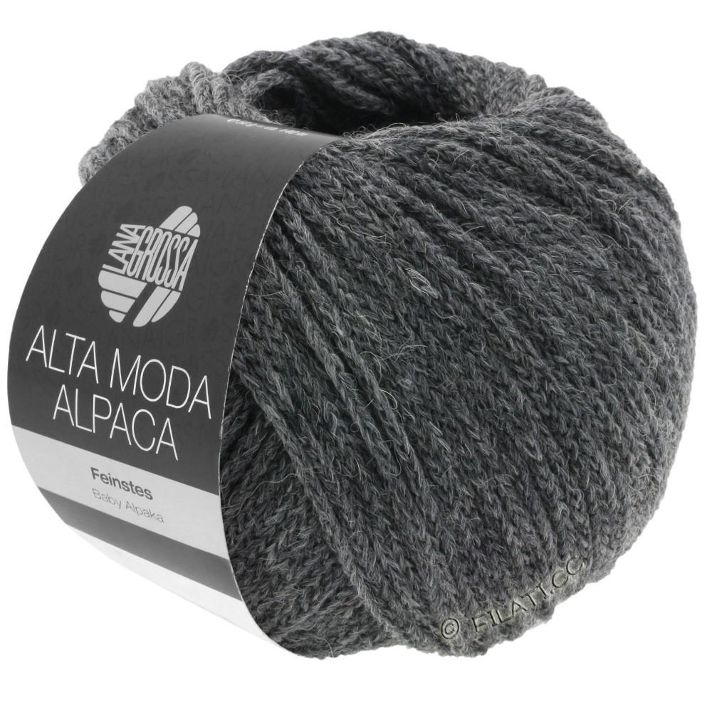 ALTA MODA ALPACA - von Lana Grossa | 22-Dunkelgrau meliert