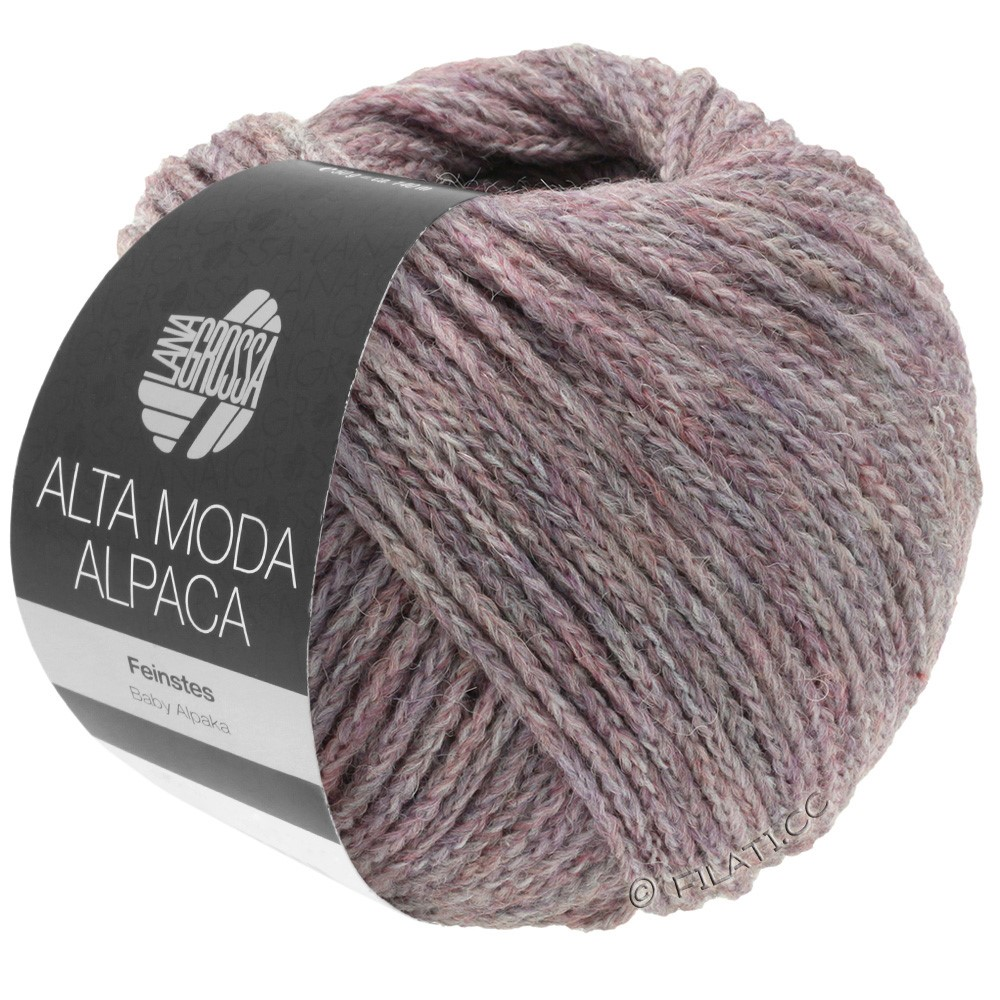 ALTA MODA ALPACA - von Lana Grossa | 44-Flieder meliert