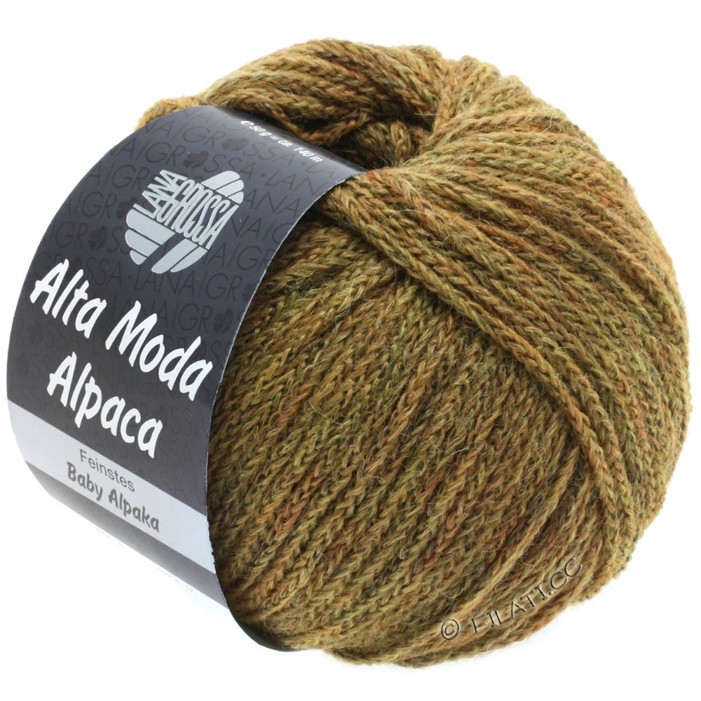 ALTA MODA ALPACA - von Lana Grossa | 50-Goldbraun meliert