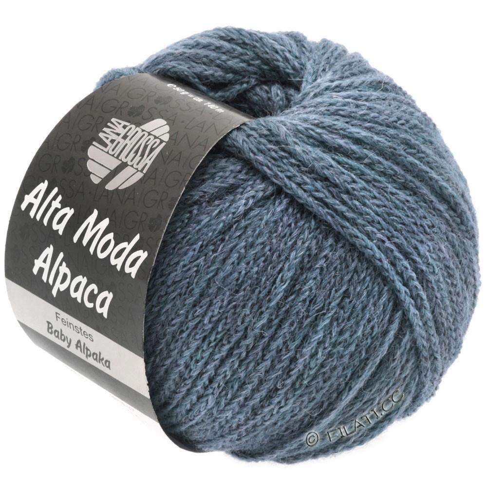 ALTA MODA ALPACA - von Lana Grossa | 53-Jeans meliert