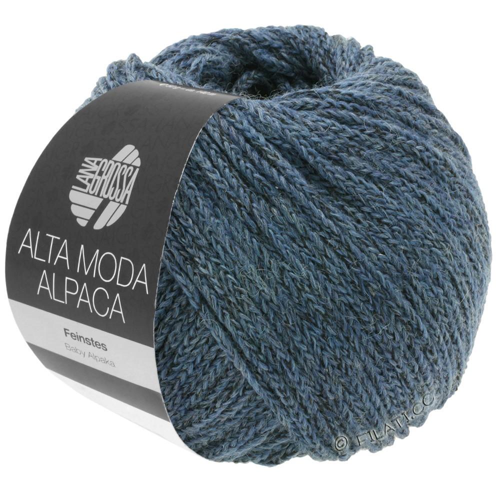 ALTA MODA ALPACA - von Lana Grossa | 60-Graublau meliert