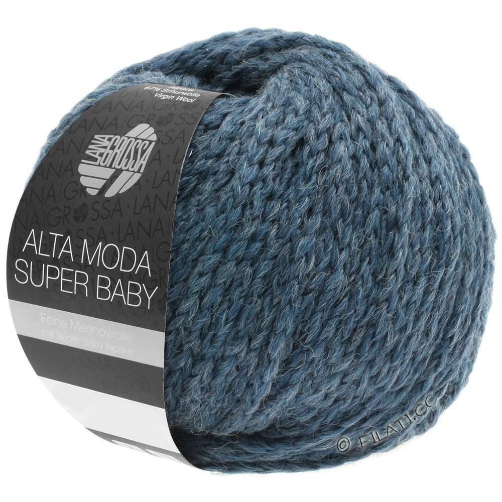 ALTA MODA SUPER BABY  Uni - von Lana Grossa | 41-Graublau meliert