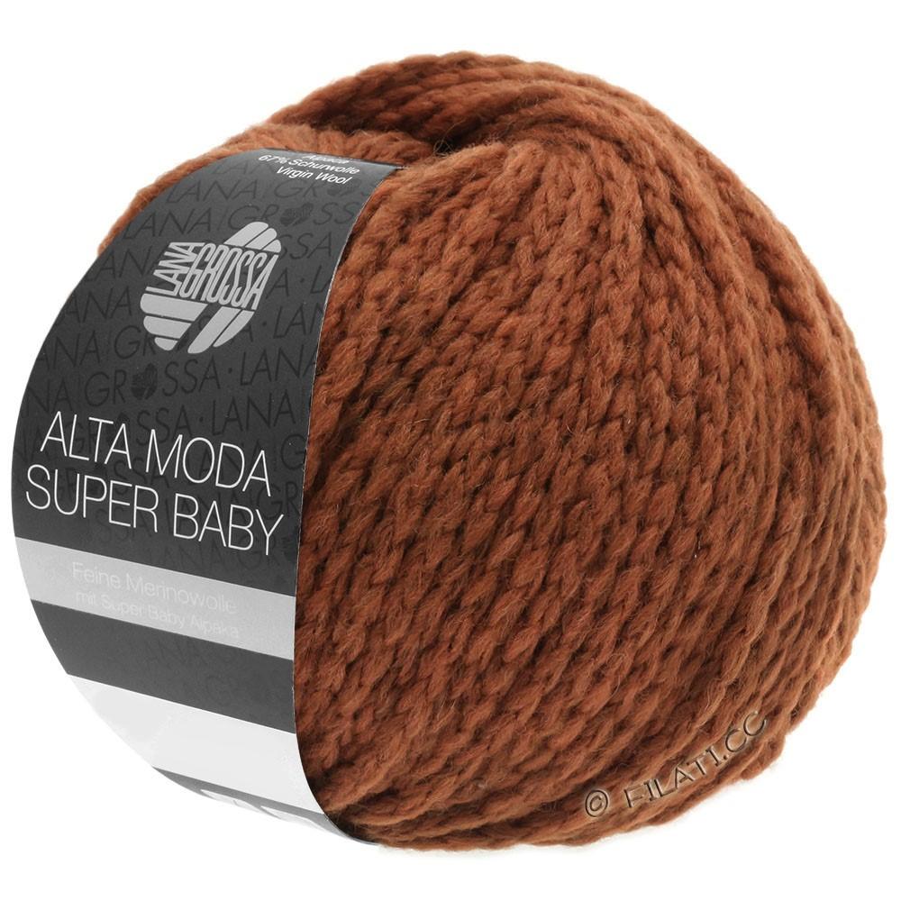 ALTA MODA SUPER BABY  Uni - von Lana Grossa | 43-Terracotta