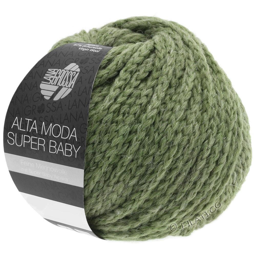ALTA MODA SUPER BABY  Uni - von Lana Grossa | 44-Graugrün
