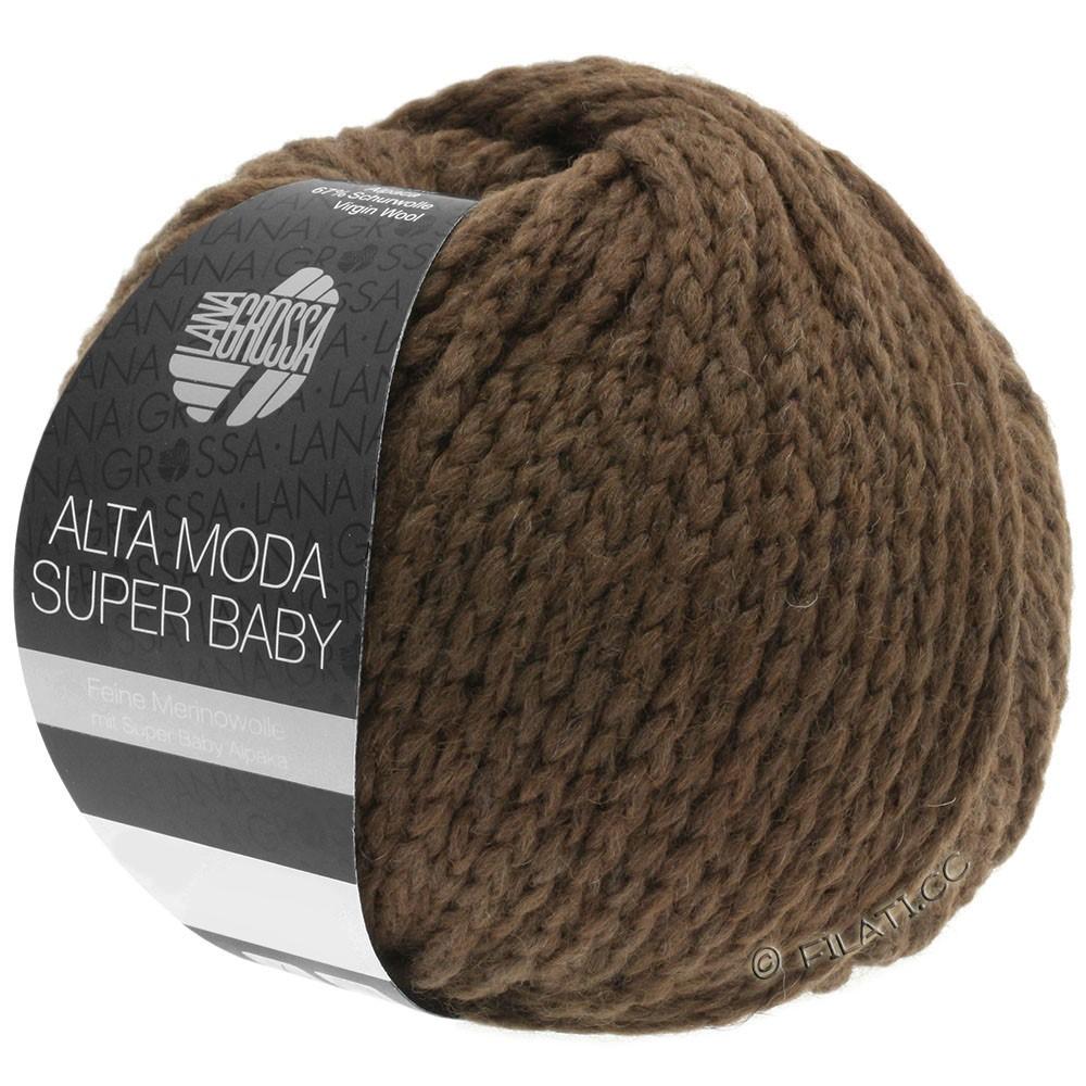 ALTA MODA SUPER BABY  Uni - von Lana Grossa | 45-Dunkelbraun