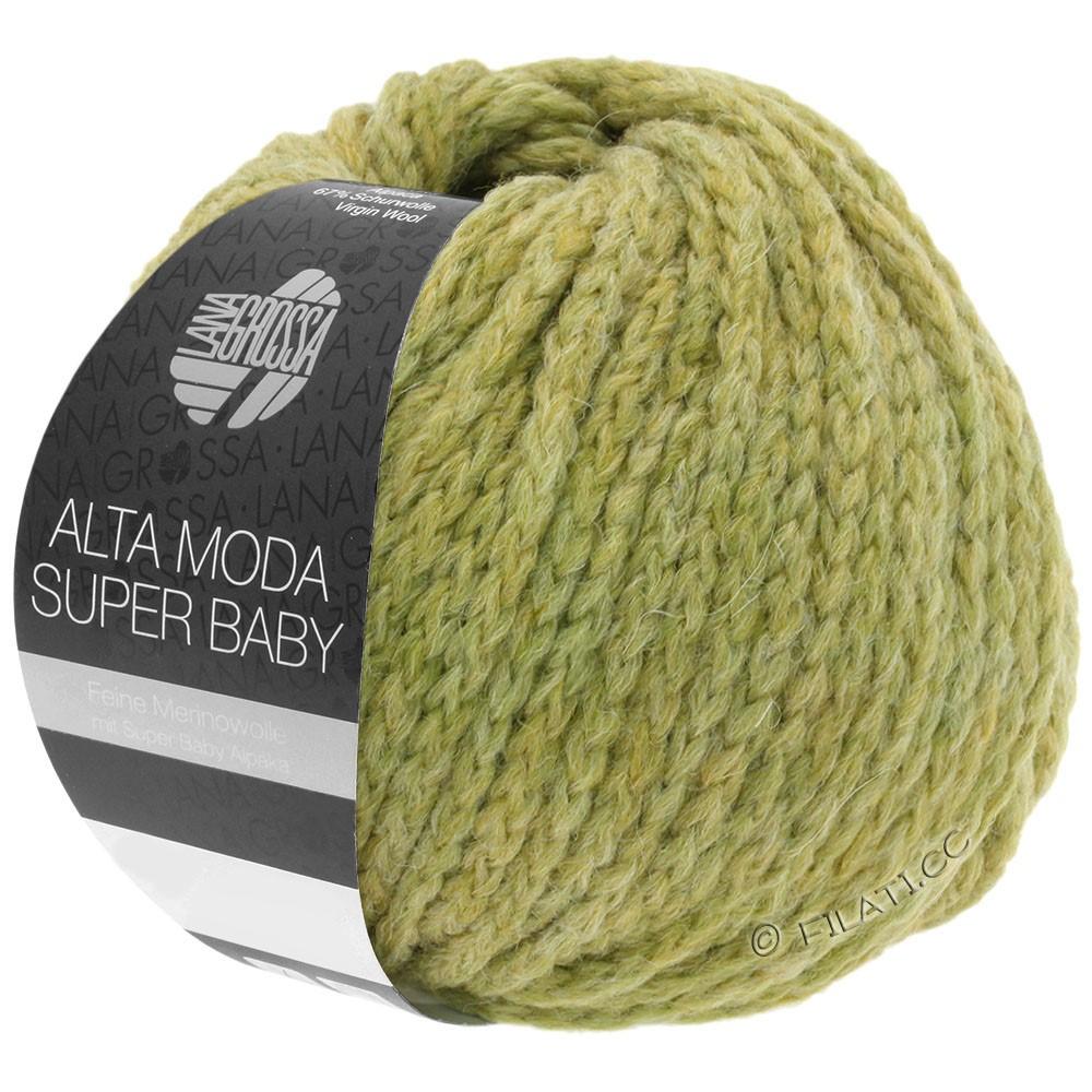 ALTA MODA SUPER BABY  Uni - von Lana Grossa | 46-Senf meliert