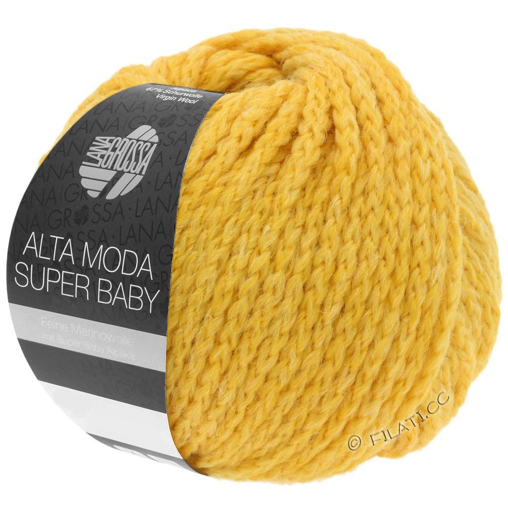 ALTA MODA SUPER BABY  Uni - von Lana Grossa | 49-Gelb