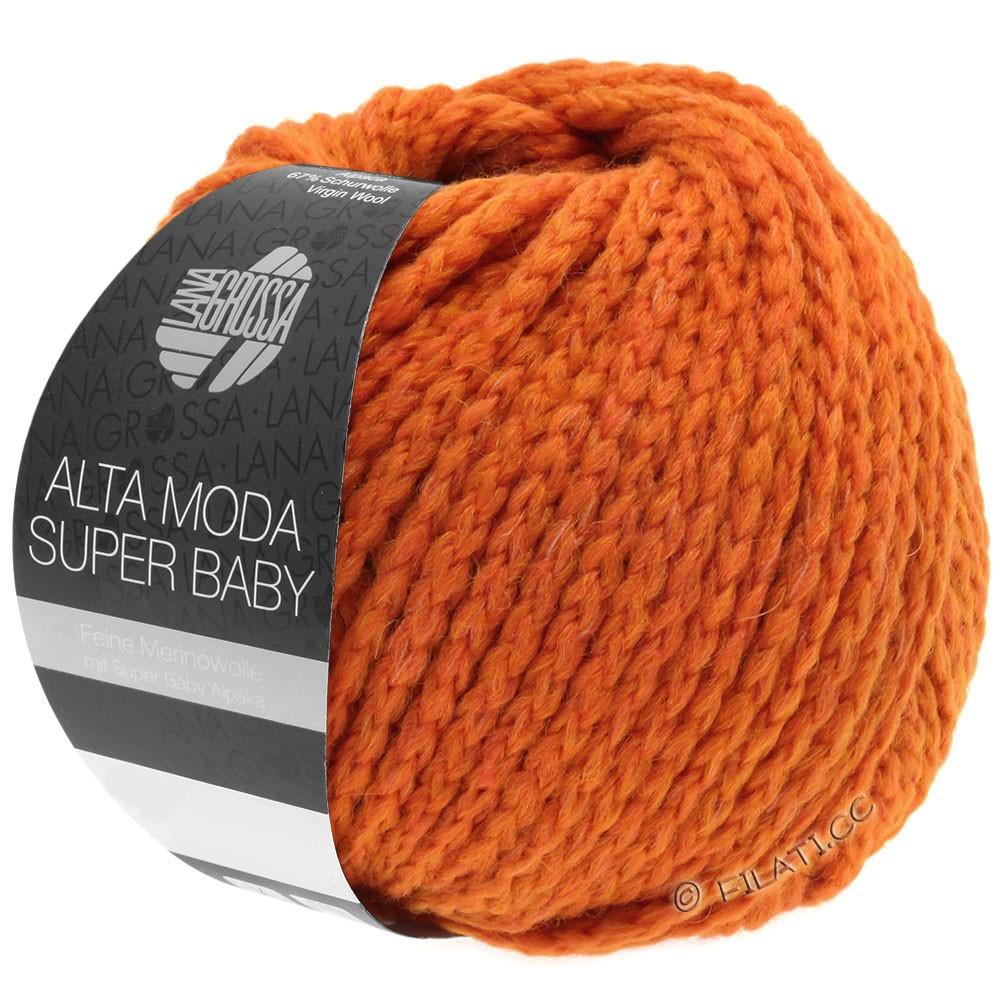 ALTA MODA SUPER BABY  Uni - von Lana Grossa | 50-Signalorange