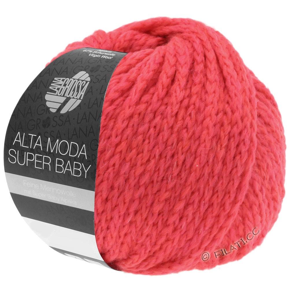ALTA MODA SUPER BABY  Uni - von Lana Grossa | 51-Koralle