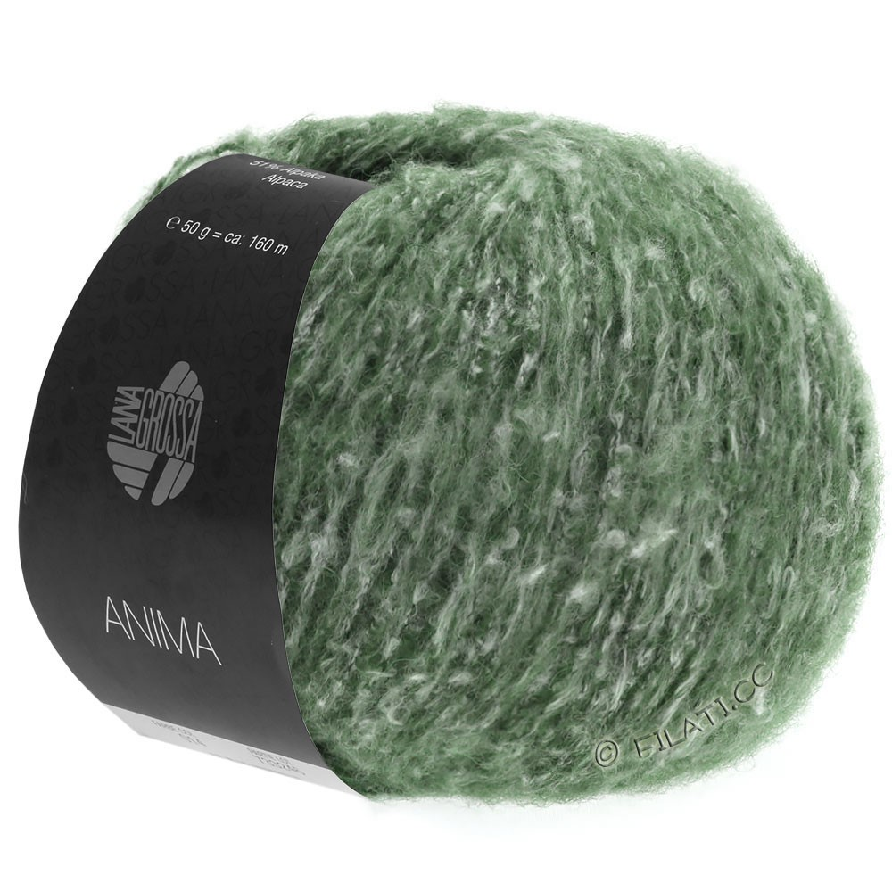 ANIMA - von Lana Grossa | 20-Grün meliert