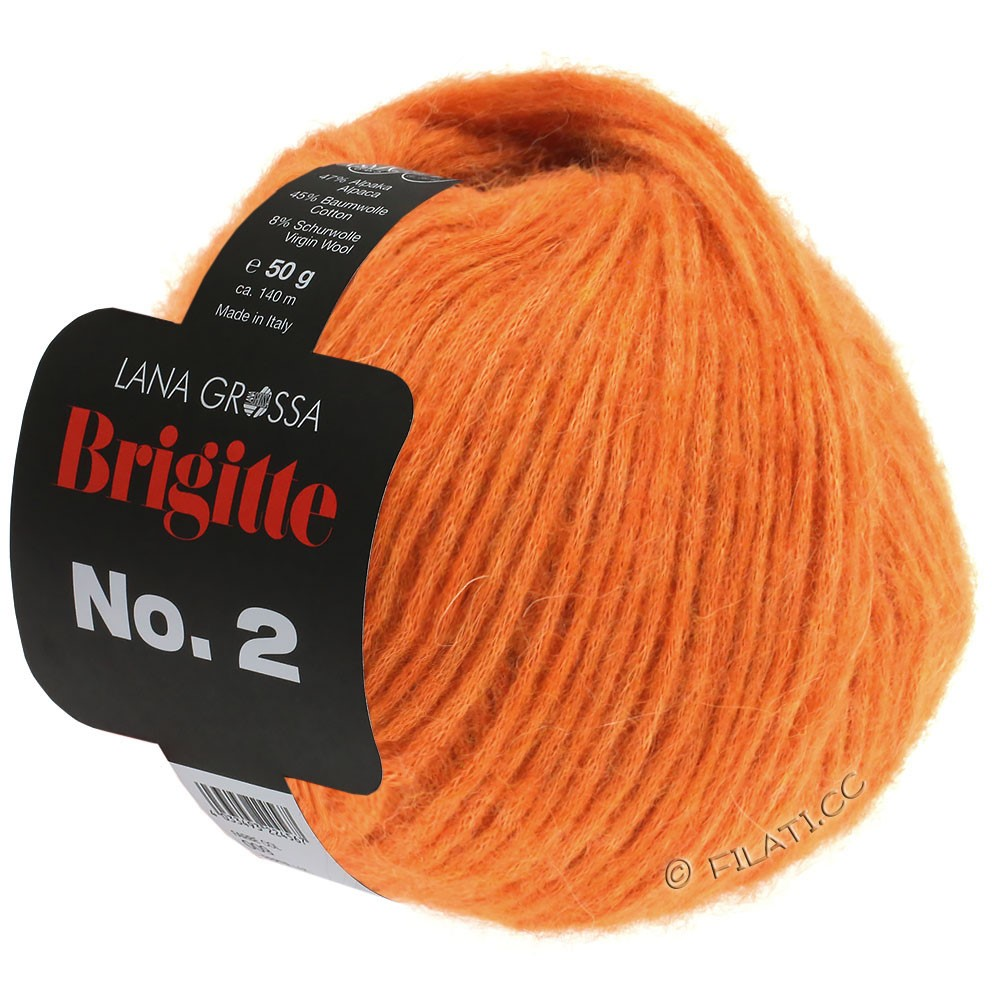 BRIGITTE NO. 2 - von Lana Grossa | 10-Orange