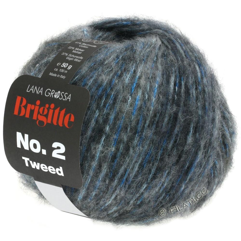 BRIGITTE NO. 2 Tweed - von Lana Grossa | 106-Beige/Hellblau/Graublau