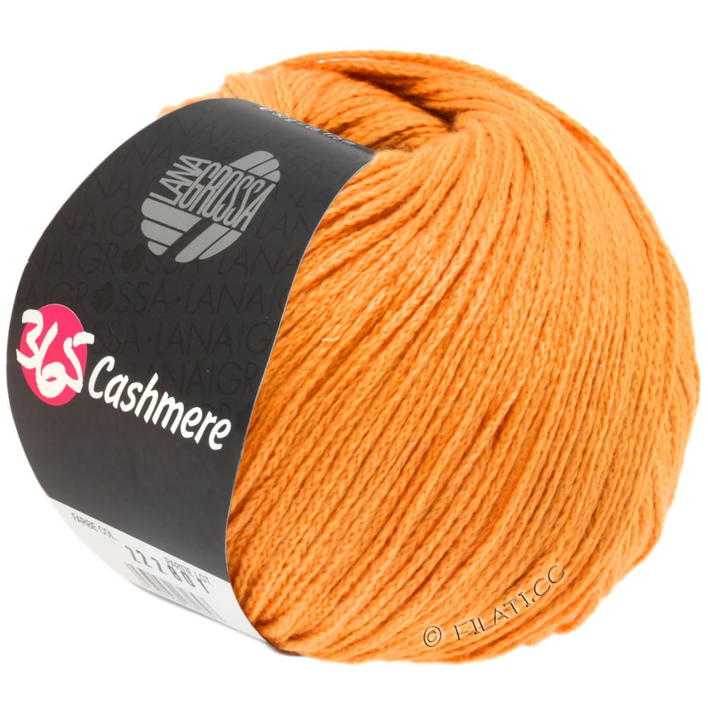 365 CASHMERE - von Lana Grossa | 39-Orange