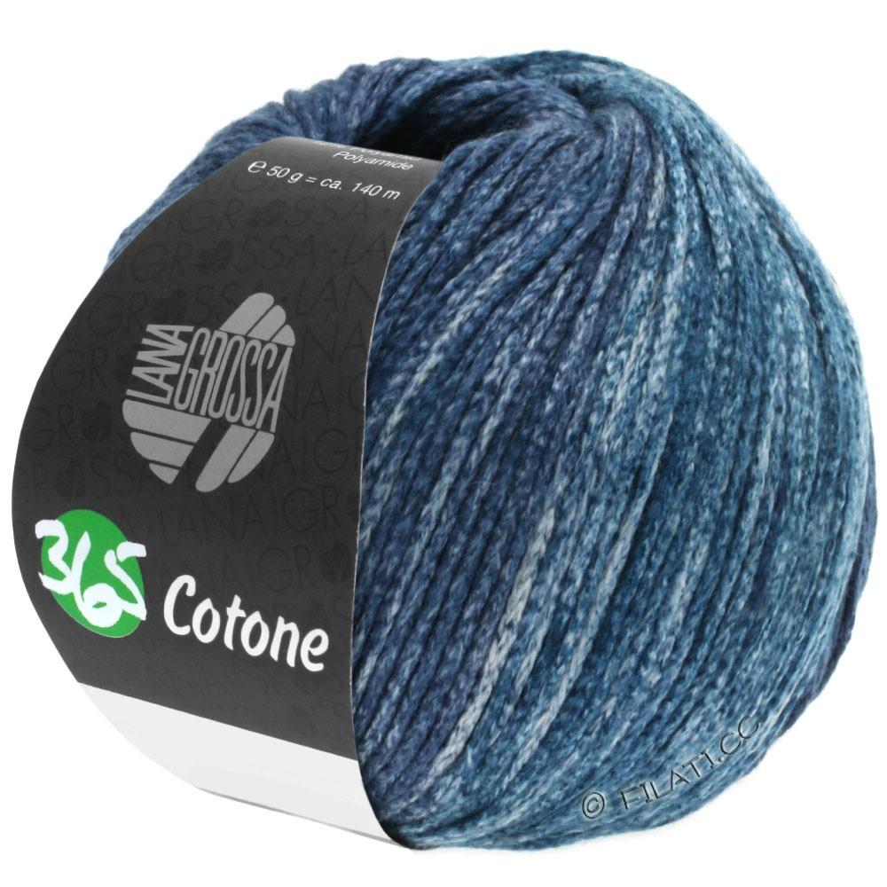 365 COTONE Degradé - von Lana Grossa | 106-Grau/Blaugrau/Petrolgrau/Schwarzblau