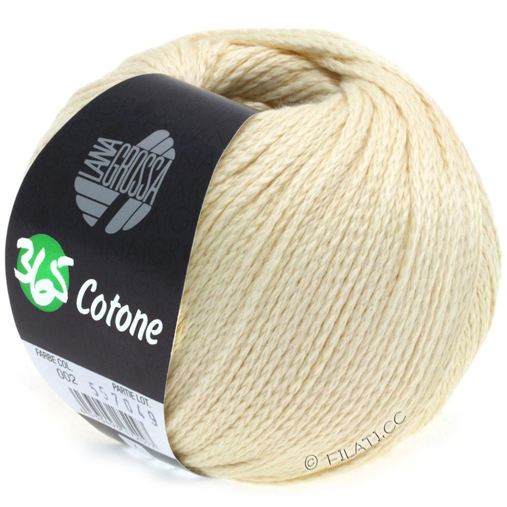 365 COTONE - von Lana Grossa | 02-Vanille