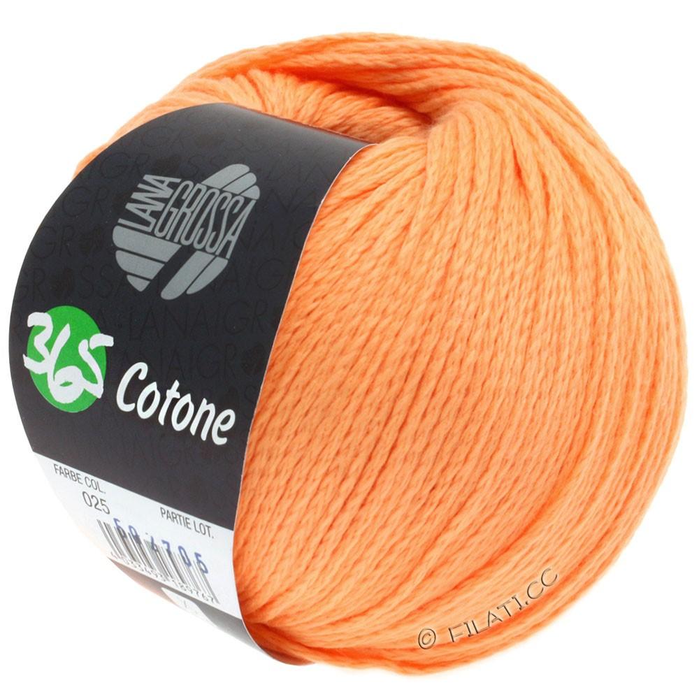 365 COTONE - von Lana Grossa | 25-Orange