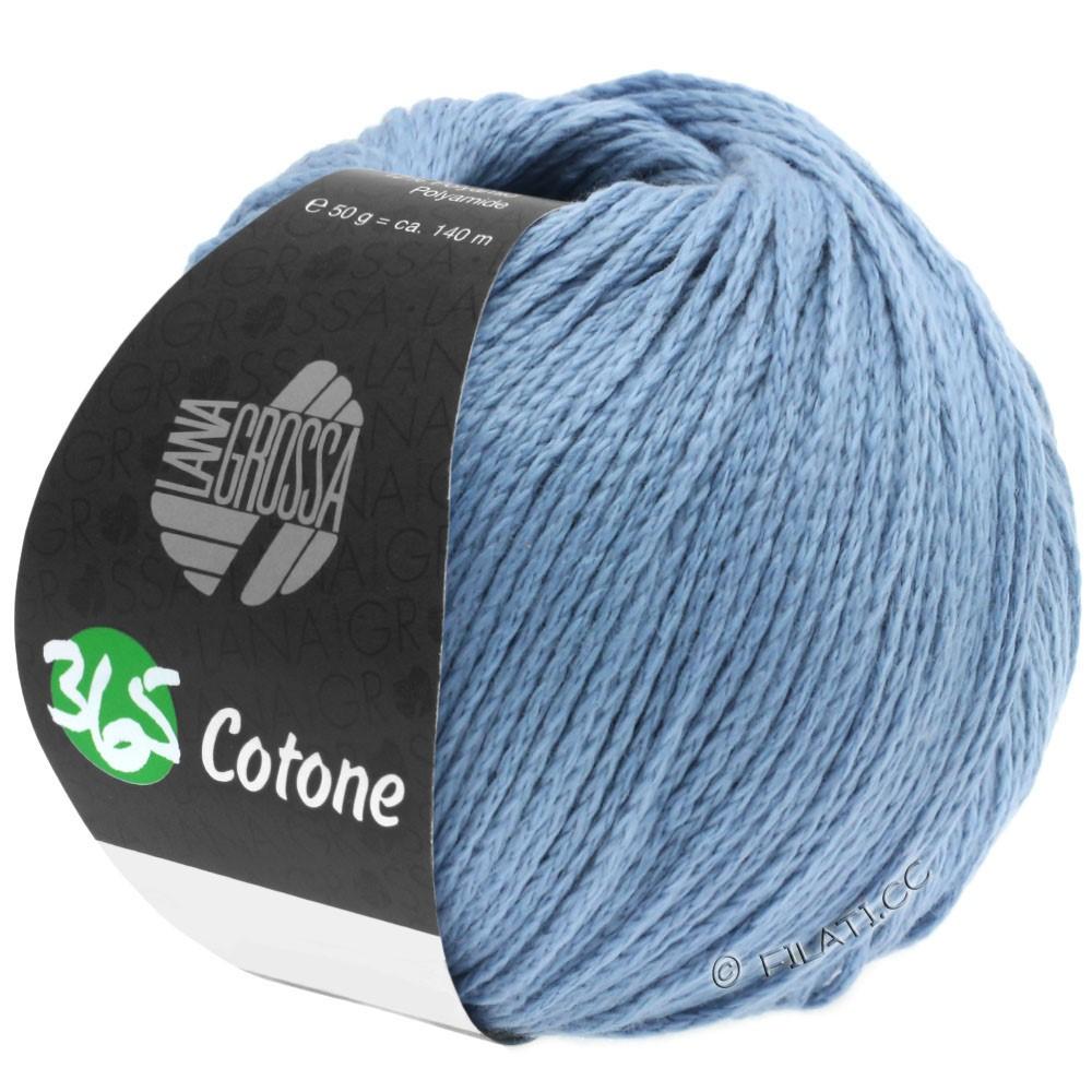 365 COTONE - von Lana Grossa | 35-Graublau