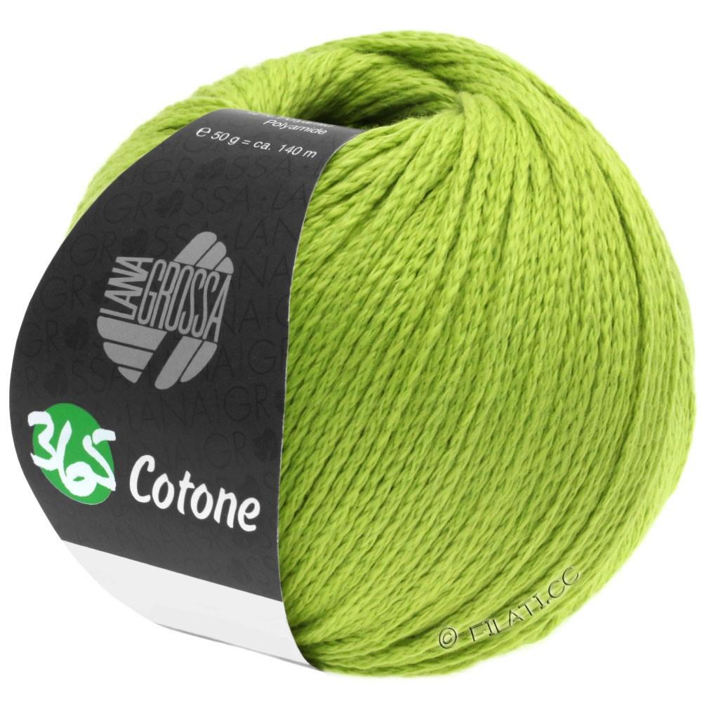 365 COTONE - von Lana Grossa | 38-Gelbgrün